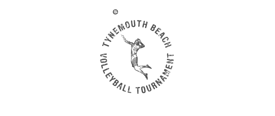 Tynemouth Beach Volleyball Tounament Logo